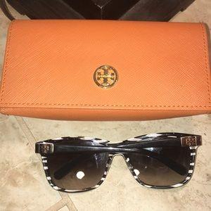Tory Burch Sunglasses zebra black and brown